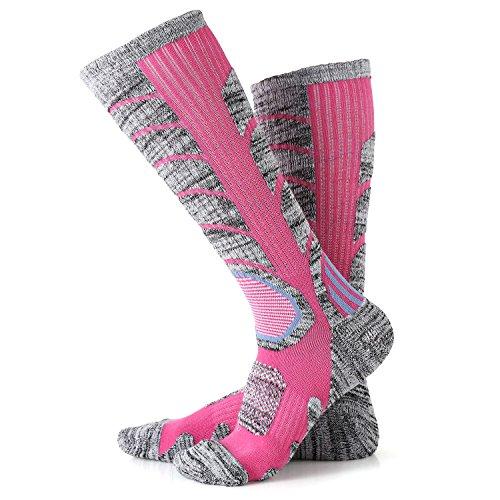 2X Wandersocken, VICWARM Herren Multifunktions Trekkingsocken Outdoorsocken Sportsocken Baumwolle Socken
