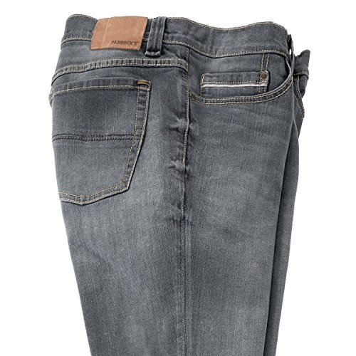 Paddock´s graue Jeans Ranger im Used Look Übergröße Grau
