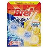 Bref WC Power Aktiv–Zitrone–1Einheit–[Pack 5]