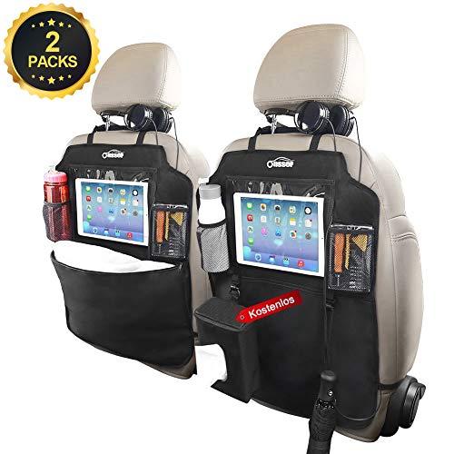 Oasser Auto Rückenlehnenschutz Rückenlehnen Kinder Rücksitztasche 2