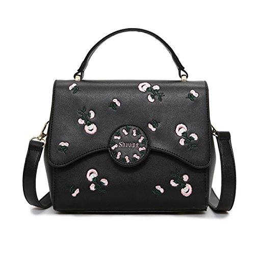Borse Mini Borse Donna Con Cinghia Di Catena Borse Sottili In Pelle Borsa Sottile In Pelle PU Black