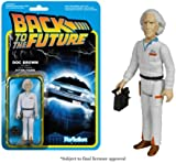 REACTION BACK TO THE FUTURE DOC BROWN 3 3/4 INCH RETRO ACTION FIGURE FUNKO