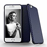 iPhone 6s plus Case, Roybens TPU Shockproof Case Cover with Carbon Fiber Grip