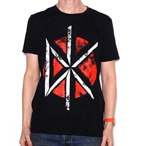 The Dead Kennedys Retro-Maglietta con Logo ufficiale 100% nero XL