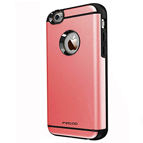 Coque iPhone 4S,Pegoo Antichoc Armure Housse par le souple TPU Silicone + dur PC Double Mixte Anti Scratch Protection cas Coque Housse Etui Cover Case Pour apple iPhone 4 4S (Vert) Vin rouge