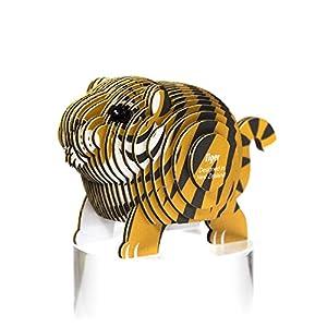 Dodo País 61123-Puzzle eugy-Tiger