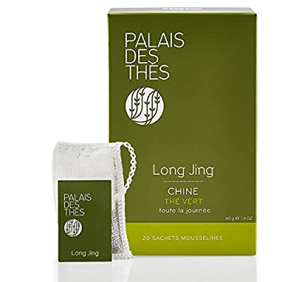 Palais Des Thés - Thé Vert Long Jing -20 Sachets Mousselines