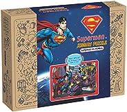 Webby Superman Vs Mongul Wooden Jigsaw Puzzle, 108 Pcs