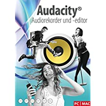 Audacity® Audiorekorder und –editor - Ihr professionelles Tonstudio zum Aufnehmen, Bearbeiten und Abspielen aller gängigen Audiodateien: WAV, AIFF, FLAC, MP2, MP3, OGG Vorbis für Windows 10/8.1/8/7/Vista