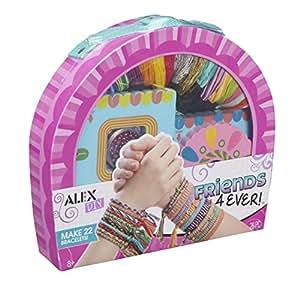 Alex Toys Diy Wear - 737wx - Coffret - Les Bracelets De L'amitié A Tisser