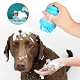 Everfunny Pet Baden Cup Pet Dusche Waschmaschine Werkzeug, Weiches Gummi in Herzform Pet Massage Bad Tasse, Pet Bad Massage Bürste Cup für Katze Hund