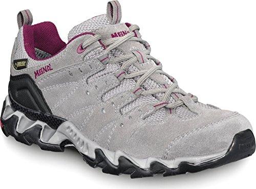 Meindl donna scarpe da trekking Portland Lady GTX 3419, grigio/bordeaux, 39
