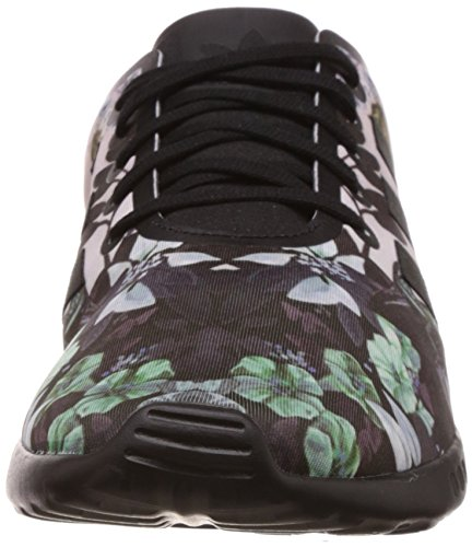adidas  ZX Flux Smooth, Running femme Multicolore - Mehrfarbig (Core Black/Core Black/Core Black)