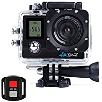 4K Sports HD Action Camera with 30m water resistant