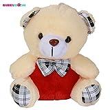 #2: Babies Bloom Comfortable Cream Teddy Bear Plush Toy With Necktie