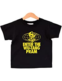Enter The Wu-Tang Pram kids t-shirt 1-2 years. Baby T-shirt tribute to the Wu-Tang Clan