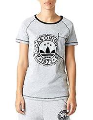 adidas Mujer Nueva Camiseta T-Shirt Camiseta informal - MGREYH, 32
