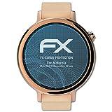 atFoliX Displayschutzfolie für Motorola Moto 360 2.Generation (42 mm) Schutzfolie - 3 x FX-Clear kristallklare Folie