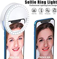 High Quality Mini USB Rechargeable Selfie Ring Light Compatible for Mobile Phones, Laptop, Ipad, Make Up