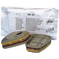 3M 70071617941 6057 ABE1 - Filtro para gases y vapores (8 unidades)