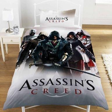 Assassins Creed Montage copripiumino per letto singolo set