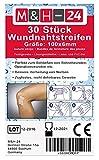 Puntos de sutura adhesivos, para cierre de heridas menores y cicatrices quirúrgicas, tiras adhesivas porosas 3M