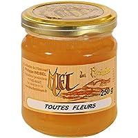 Le Rucher de l'Ours - Miel de Montagne - Pot de 250g, Solide