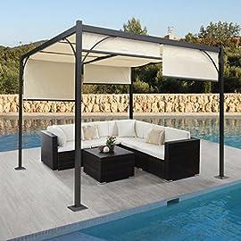 Evergreen pergola carport in alluminio tettoia in policarbonato auto shelter b