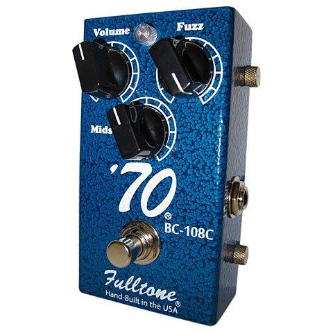 Fulltone '70 Pedal BC-108C · Pedal guitarra eléctrica