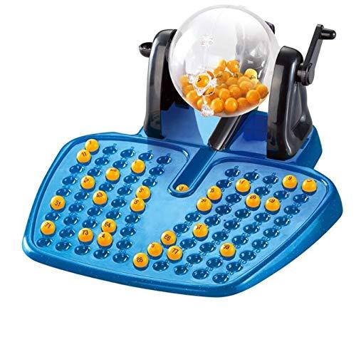 Unbekannt Home Decor Bingo Manuelle Lotterie Maschine Bingo Spielmaschine Desktop Spiel Spielzeug Kinder Kinder Puzzle Spielzeug