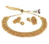YouBella Traditional Temple Necklace Set...