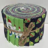 Fabric Freedom Jelly Roll FFJR17 Stoffrolle, 20 Streifen (4