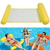 Fansport Water Floating Bed Water Floating Row Aufblasbare Wasser HäNgematte Float Liege