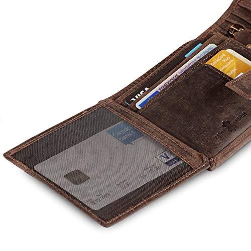 Geldbörse für Herren aus Leder - 7
