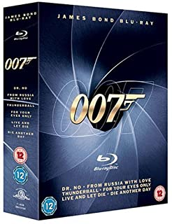 James Bond Blu-ray Collection [1962] (B001CRRAJO) | Amazon price tracker / tracking, Amazon price history charts, Amazon price watches, Amazon price drop alerts