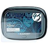 Bruni Schutzfolie für Blaupunkt MotoPilot 43 EU Folie - 2 x glasklare Displayschutzfolie