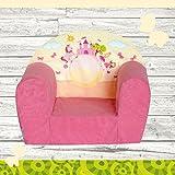 """Kindersessel """"MINI"""" Pink Castle W387_09 FORTISLINE"""