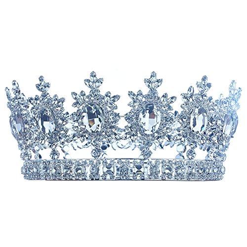 hombre-pageant-tiara-imperial-full-circle-redonda-de-plata-king-crown