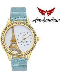 Armbandsur eiffel tower white dial watch-ABS0039GBG