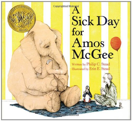 A Sick Day for Amos McGee por Philip C. Stead