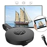 Dongle Récepteur d'affichage sans Fil, 1080p HDMI Miracast Airplay en Miroir Adaptateur Relier Dispositif TV, Projecteur, Compatible Android, iPad, Mac, Windows,G2