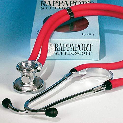 Stethoskop Comfort Doppelschlauch rot