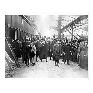 Media Storehouse 10x8 Print of World War One - Herbert Asquith - Newcastle (13146188)