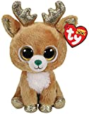 Ty - TY36220 - Beanie Boo's - Peluche Glitzy le renne 15 cm
