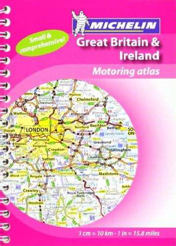 Mini Atlas GB & Ireland (Michelin Tourist & Motoring Atlases) (Michelin Tourist and Motoring Atlases)