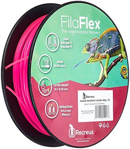 1 lb 1.75 mm,/500 gr Oro/ Recreus FGO175500 Filamento El/ástico para Impresora 3D