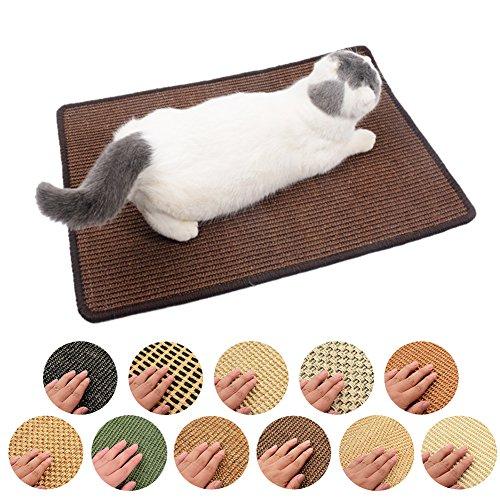 Rascador para Gatos Sisal Alfombrilla Rascadore para Gato Grande Juguete de Gato Color Aleatorio