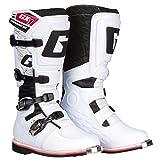 Gaerne Motocross-Stiefel GX-1 Goodyear Weiß Gr. 43