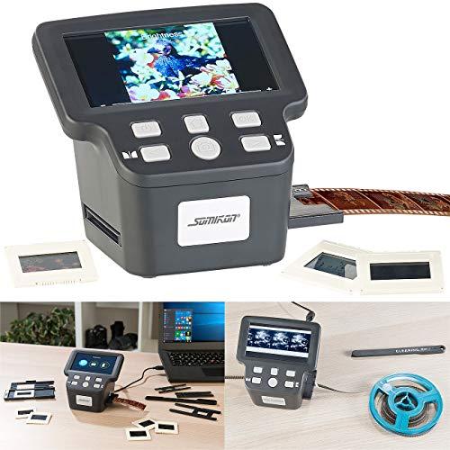 "Somikon Negativscanner: Stand-Alone-Dia-, Negativ- & Super-8-Scanner, 12,5-cm-Farbdisplay (5"") (Super 8 digitalisieren)"