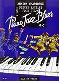piano jazz blues piano 4 mains